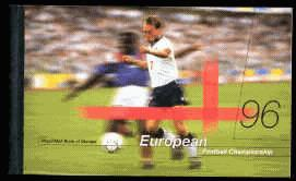 1996 GB - DX18 - European Football Championships (£6.48)