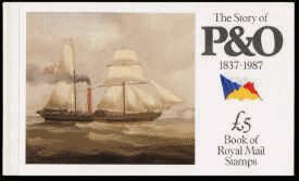 1987 GB - DX8 - The Story of P&O (1837-1987) (£5)