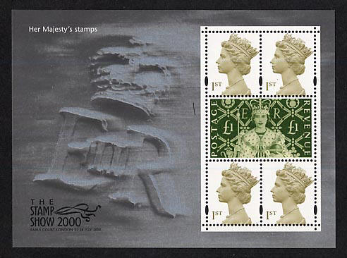 2000 GB - MS2147 - Stamp Show International Exhibition MNH