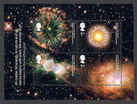 2002 GB - MS2315 - Astronomy MS MNH