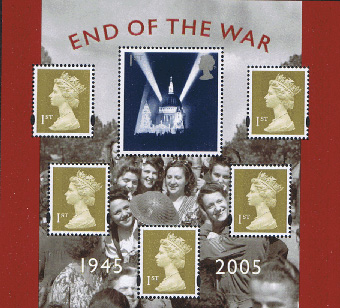 2005 GB - MS2547 - 50th Anniversary of End Of the War MNH