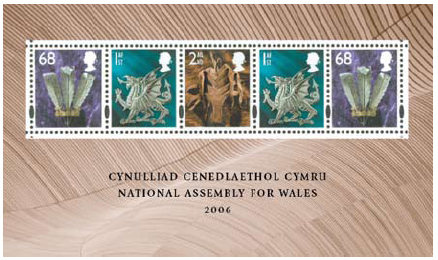 2006 GB - MS2620 - National Assembly for Wales MNH