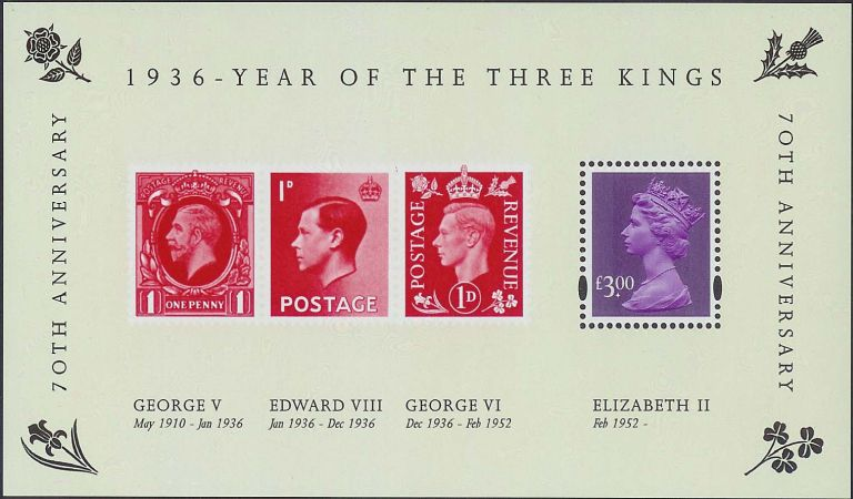 2006 GB - MS2658 - Three Kings MS MNH