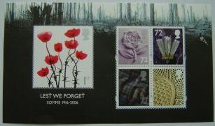 2006 GB - MS2685 - Lest We Forget (1st Issue) MS MNH