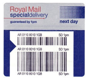 United Kingdom SPECIAL/Signed For Delivery Charge